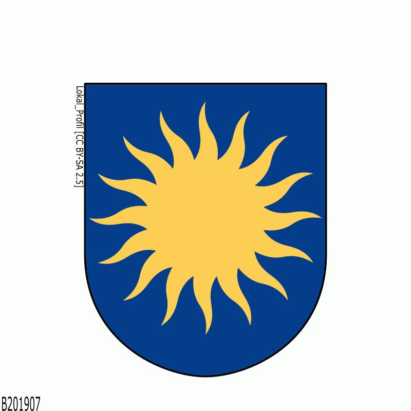 Badge of Solna kommun