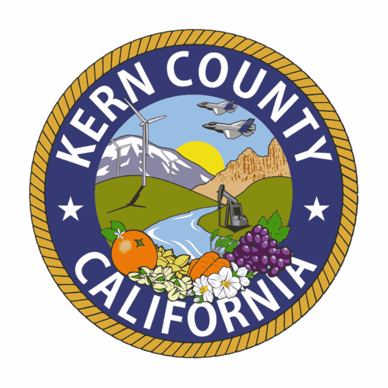 Badge of Kern County
