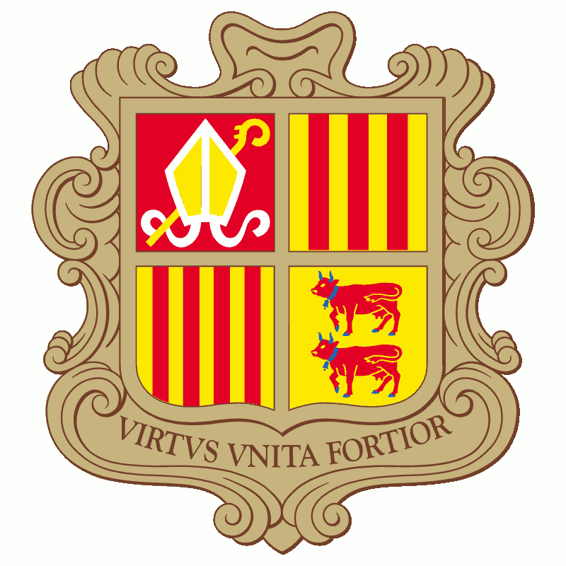 Badge of Andorra