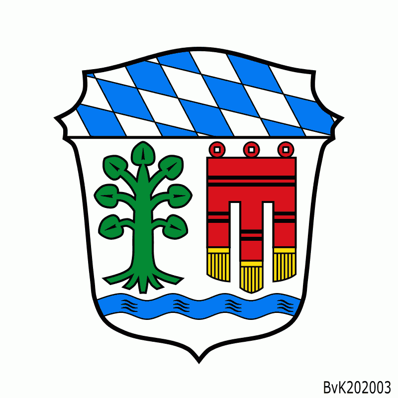 Badge of Landkreis Lindau