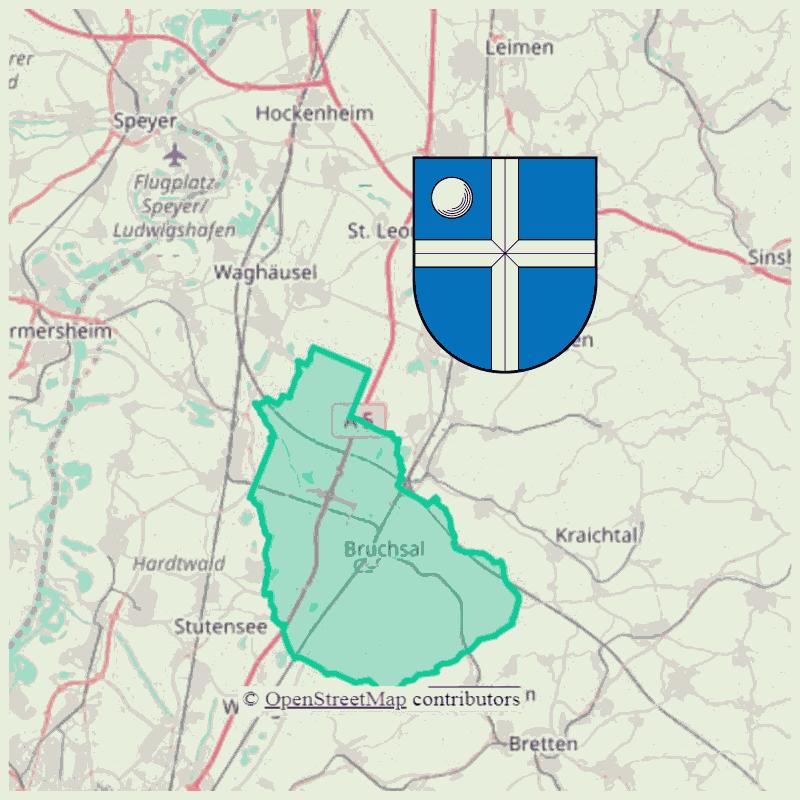 Badge of Verwaltungsgemeinschaft Bruchsal