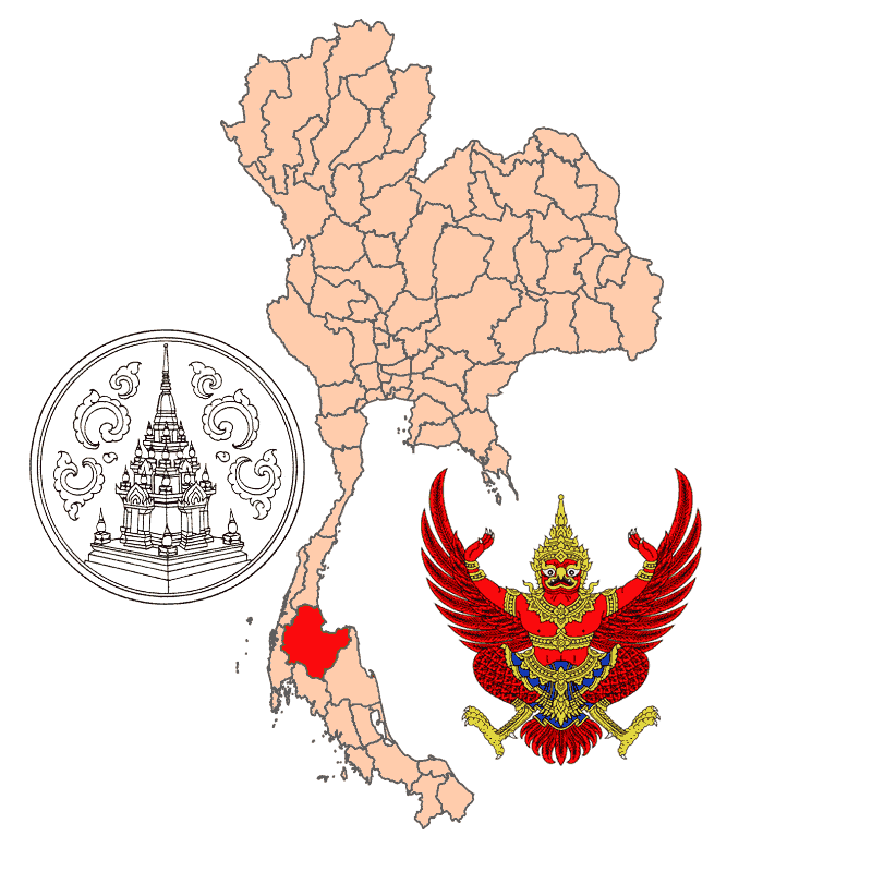 Badge of Surat Thani Province
