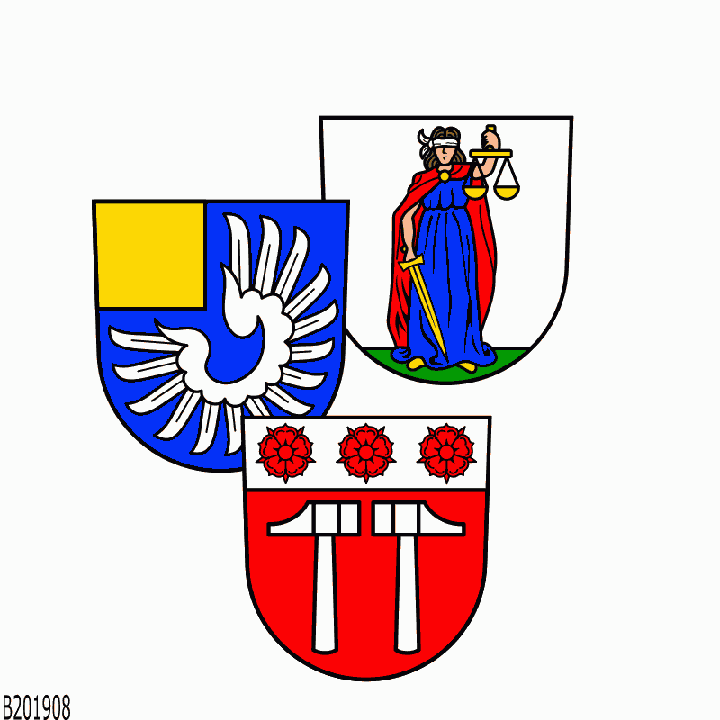 Badge of Verwaltungsverband Ilshofen-Vellberg