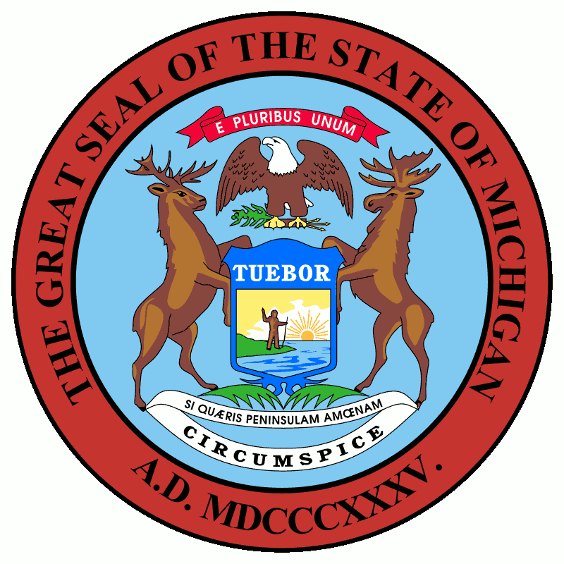 Badge of Michigan