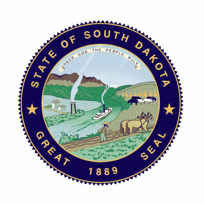 Badge of South Dakota