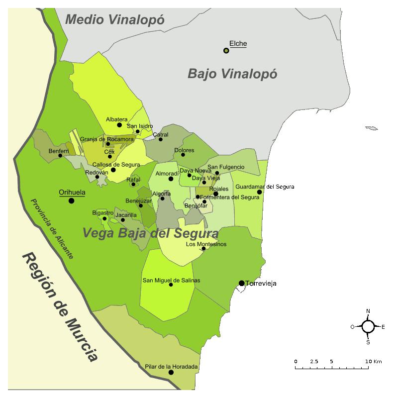 el Baix Segura / La Vega Baja del Segura
