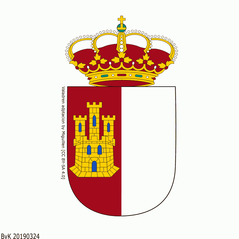 Badge of Castile-La Mancha
