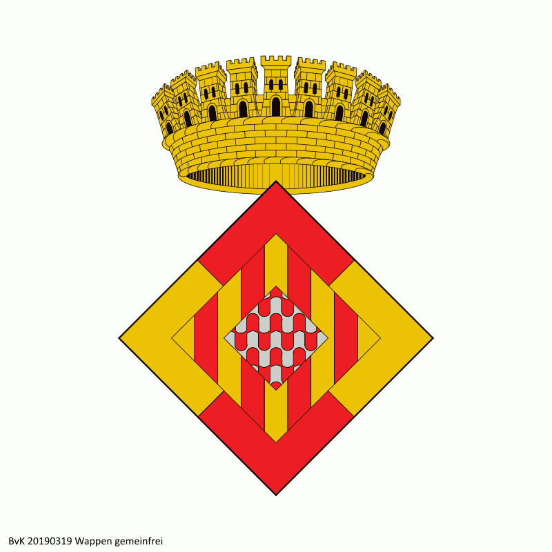 Badge of Province of Girona