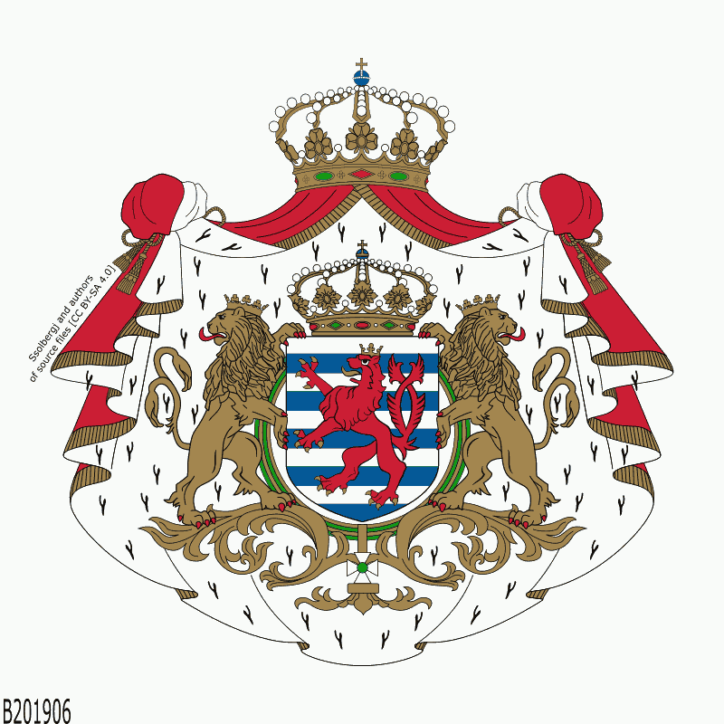 Badge of Luxembourg