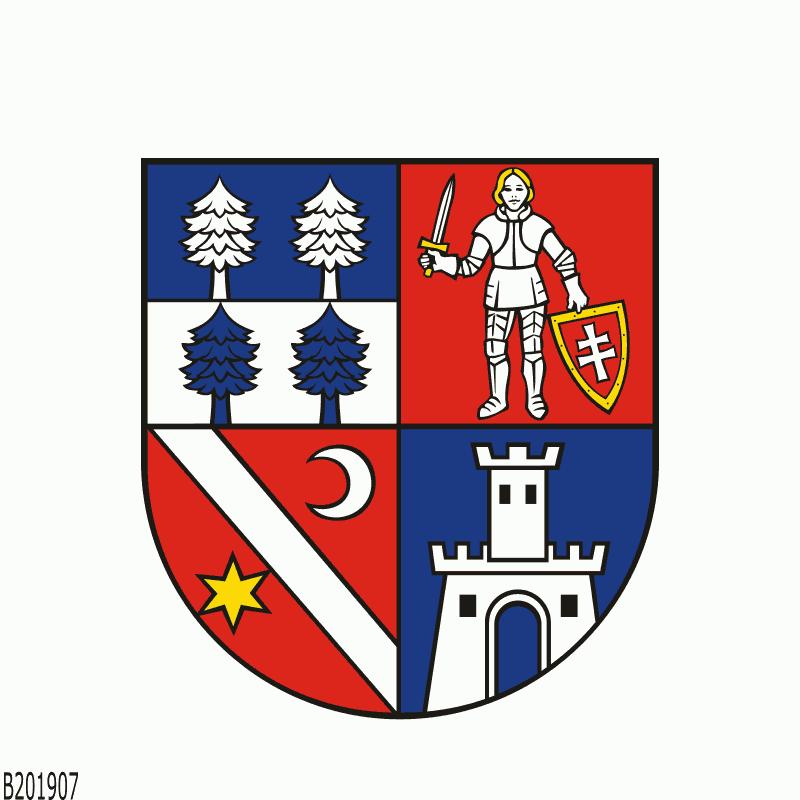 Badge of Region of Banská Bystrica