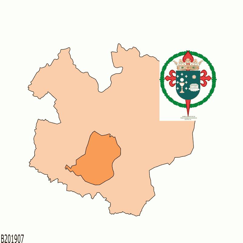 Badge of Santiago de Compostela