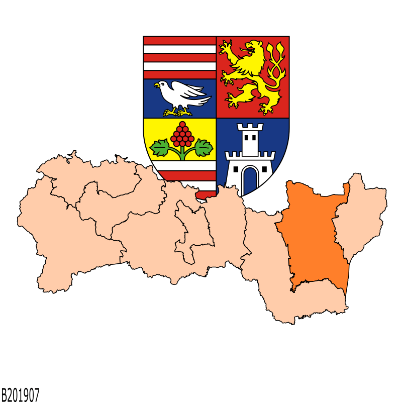 Badge of District of Michalovce