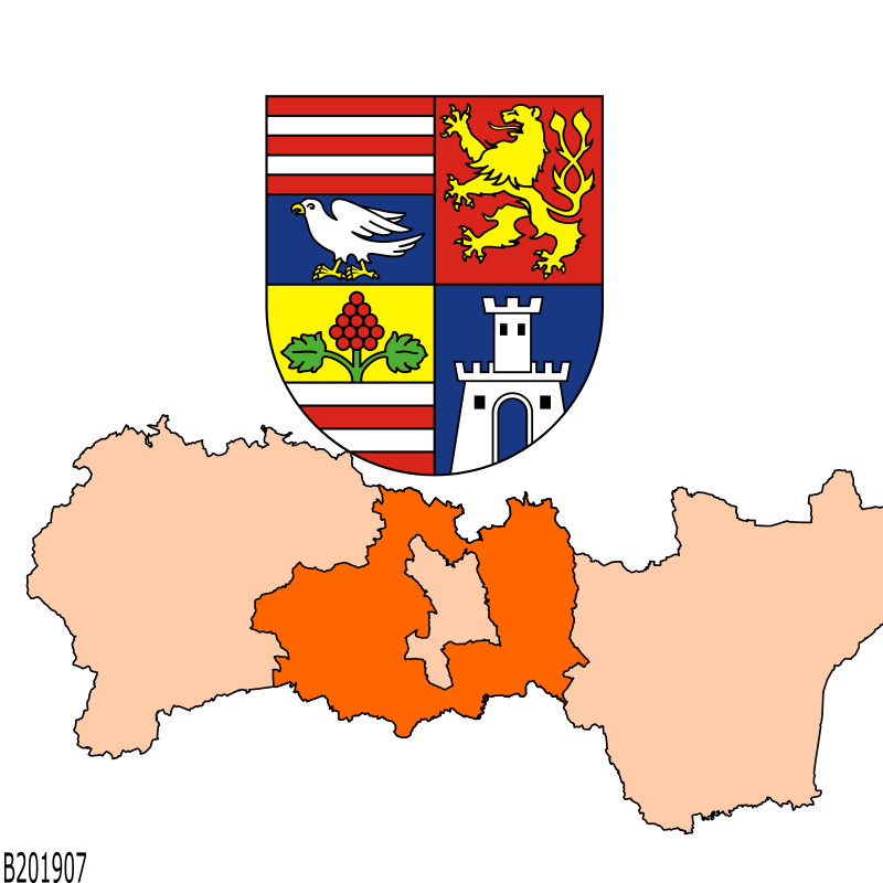 Badge of District of Košice - okolie