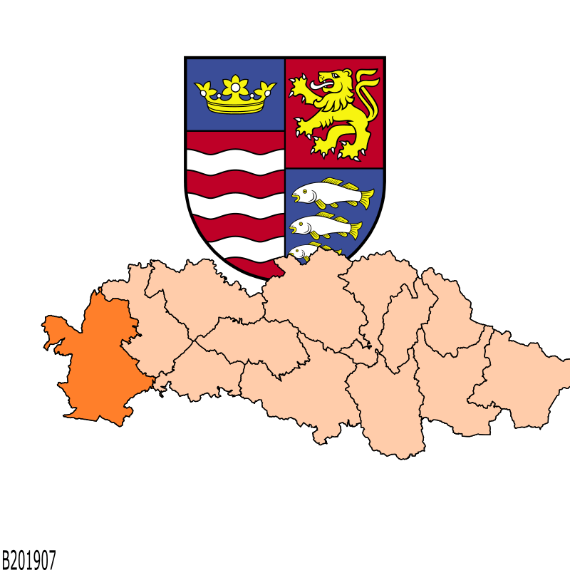 Badge of District of Poprad