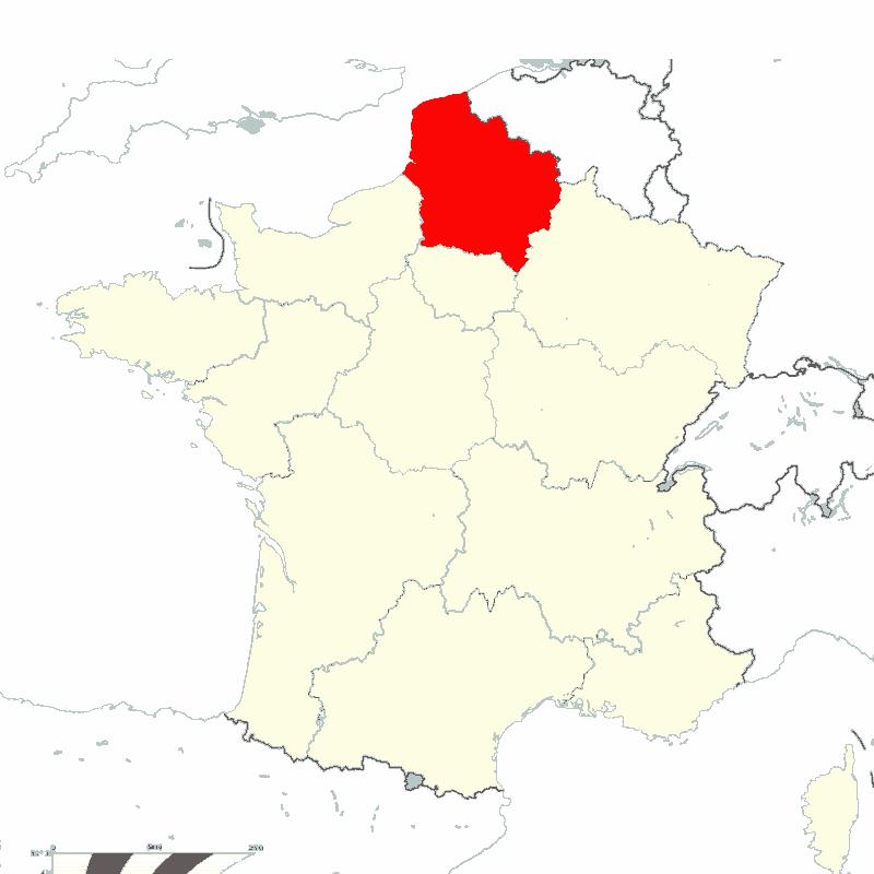 Badge of Hauts-de-France
