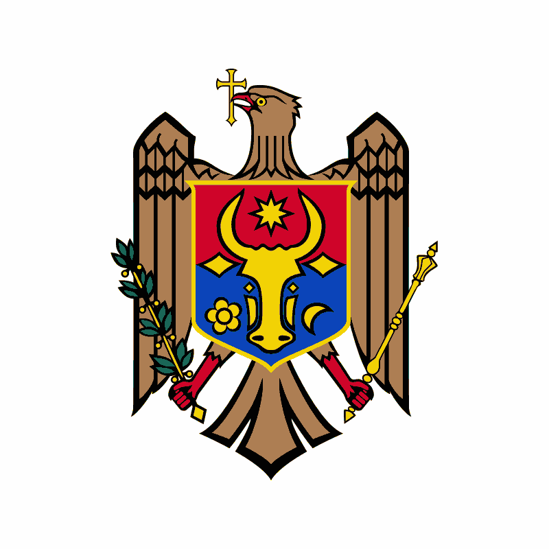 Badge of Moldova