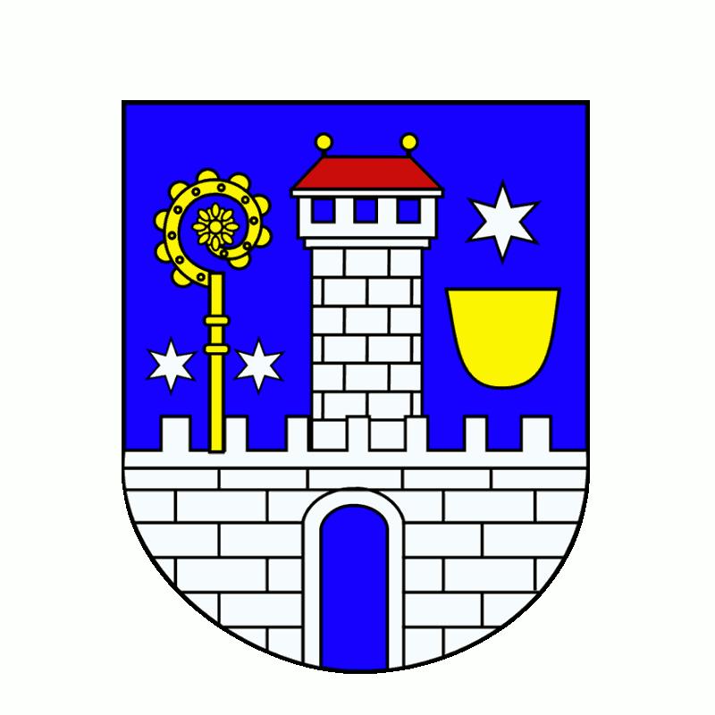 Badge of gmina Lubrza