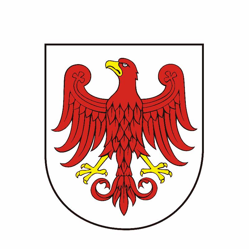 Badge of gmina Ośno Lubuskie