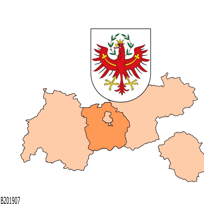 Badge of Bezirk Innsbruck-Land