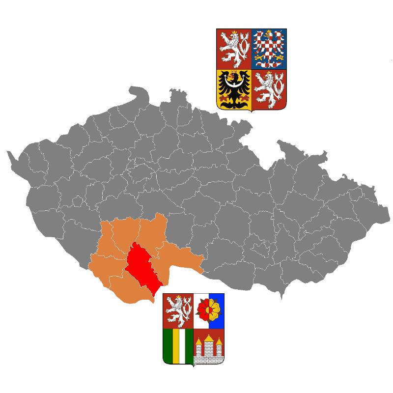 Badge of okres České Budějovice