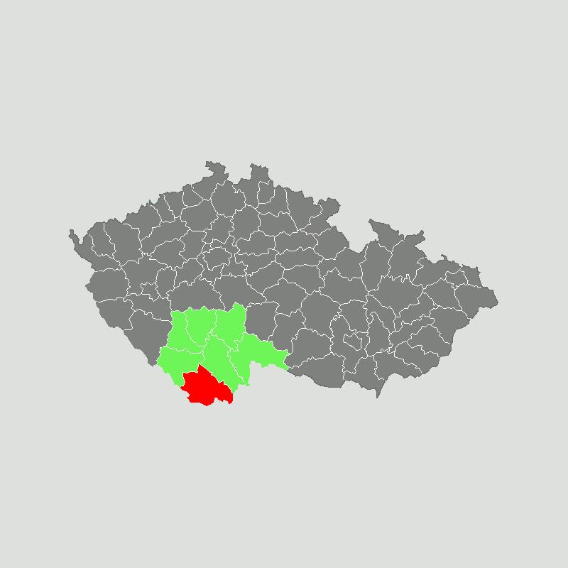 okres Český Krumlov