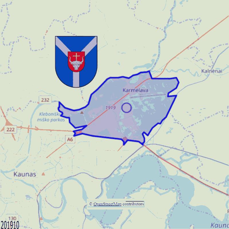Badge of Karmėlavos seniūnija