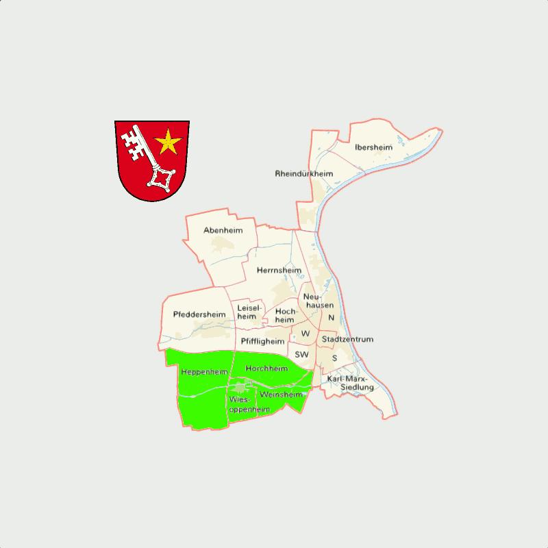Badge of Vororte Südwest