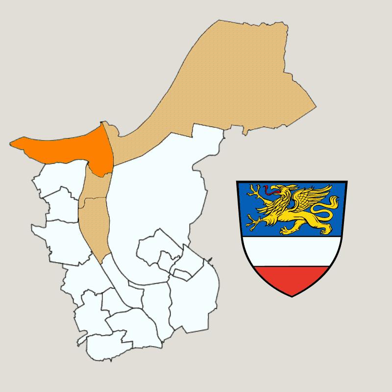 Badge of Ortsbeirat 1 : Diedrichshagen,Seebad Warnemünde