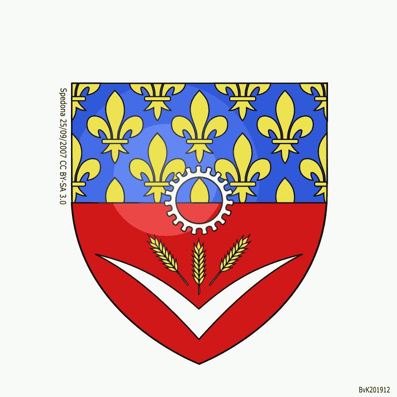 Badge of Seine-Saint-Denis