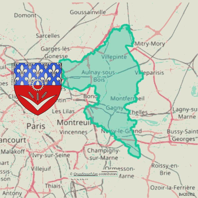 Badge of Le Raincy