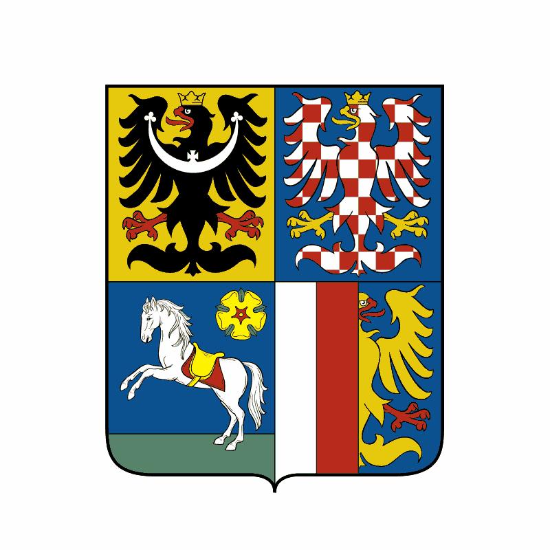 Badge of Moravskoslezský kraj