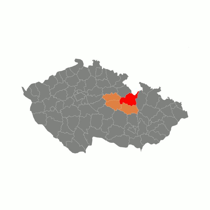 Badge of okres Ústí nad Orlicí