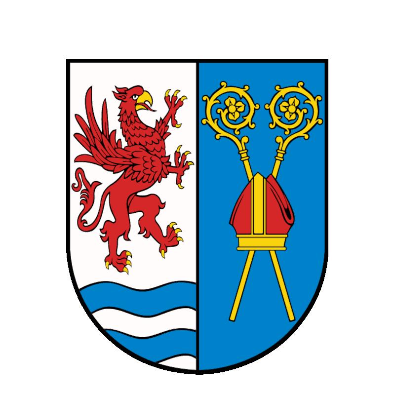 Badge of powiat kołobrzeski