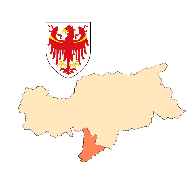 Badge of Überetsch-Unterland - Oltradige-Bassa Atesina