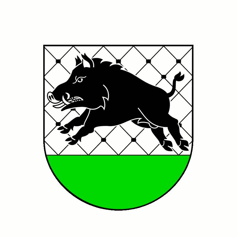 Badge of gmina Debrzno