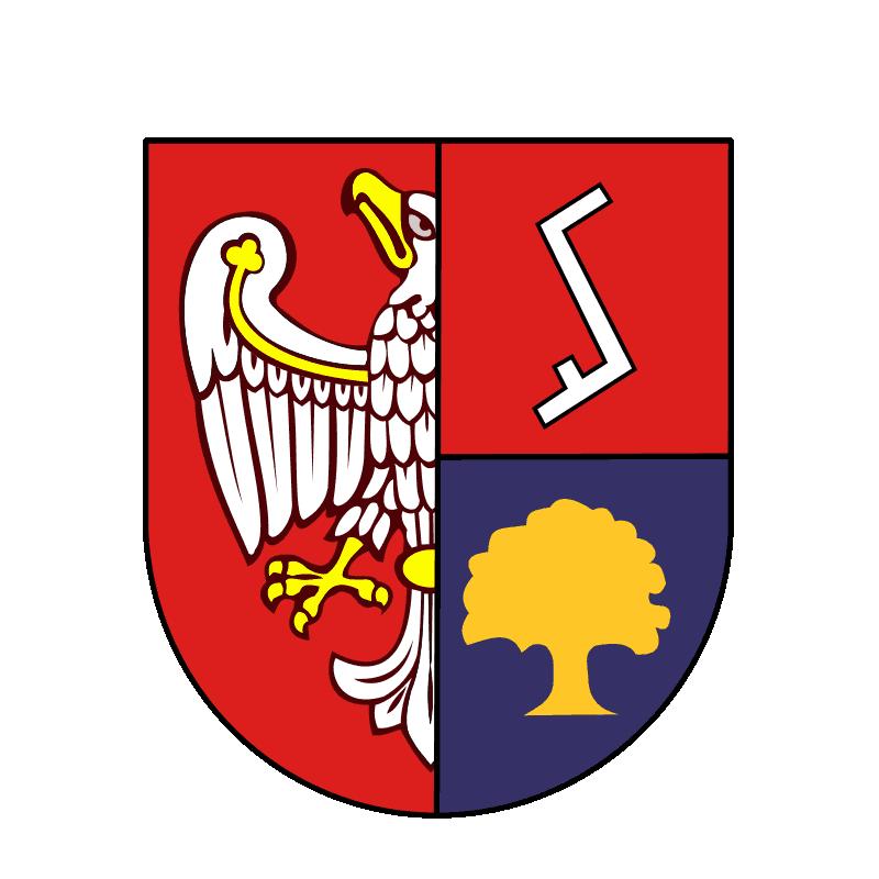 Badge of powiat złotowski
