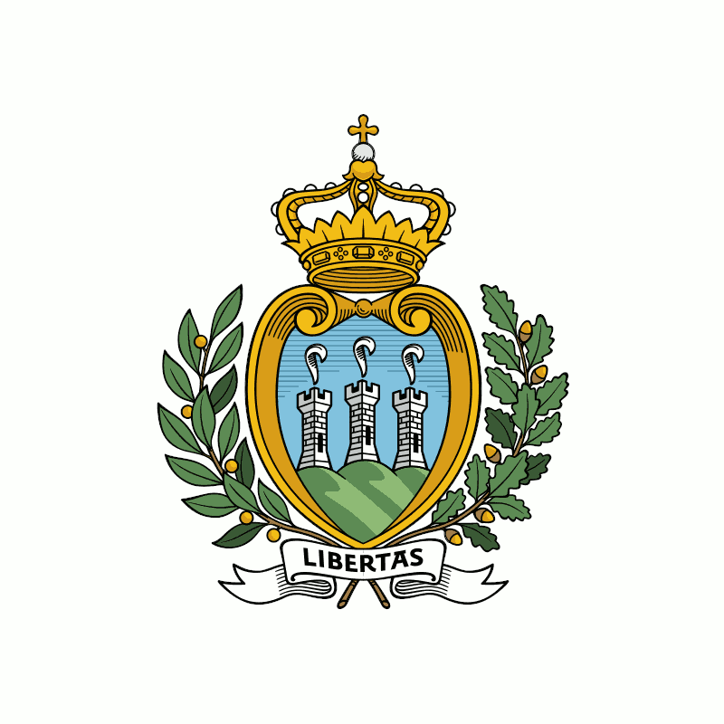 Badge of San Marino