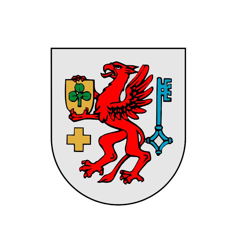 Badge of gmina Trzebiatów