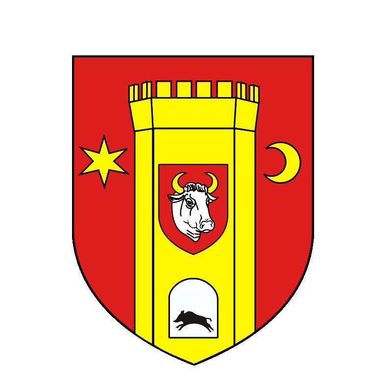 Badge of powiat człuchowski