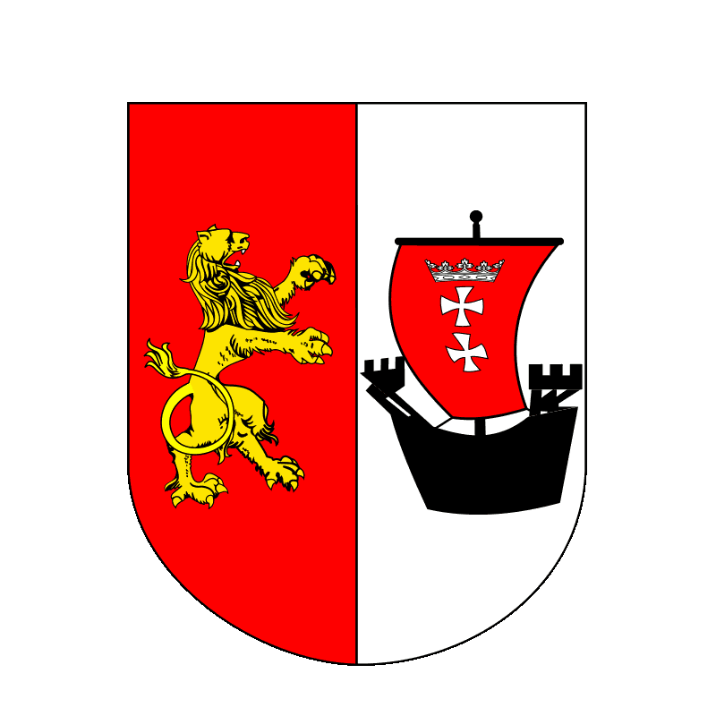 Badge of powiat gdański