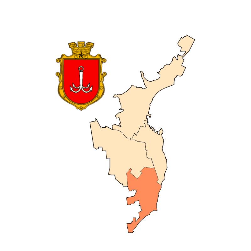 Badge of Kyivs'kyi Rayon